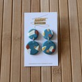 Seconds - Polymer Clay Drop Earrings