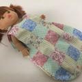 Dolls Sleep Sack to fit Miniland and Minikane dolls