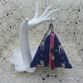Women's Pyramid Wristlet - Evening, Day, Wedding,  Party - Navy Deer