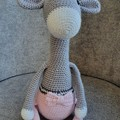 Handmade Crochet Giraffe Amigurumi, Giraffe Soft Toy