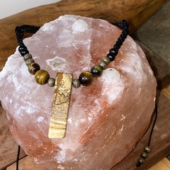 Picture Jasper and tigers eye choker