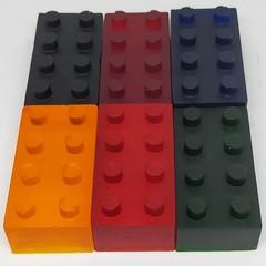 Lego Brick Bath Crayons