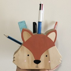 Wooden Pencil/stationery box. (Teacher gift)