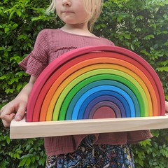 Storage Tray for Grimm's Large Rainbow Stacker