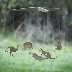 DELUXE Wooden Aussie Animals Children's Mobile