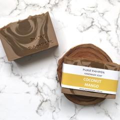 Clearance Sale: Bar Soap - Coconut Mango - Vegan