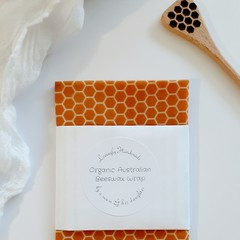 Handmade Australian Organic Beeswax Pine Resin Wraps For Vegetables Christmas
