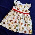 Xmas Baubles Baby Dress Size 0