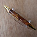 360 degree Herringbone Segmented wood  Polaris Pen