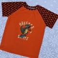 Orange Monster Skate Tee Sizes 3 & 5
