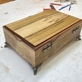 Valet | Valet Box | Wood Box In Black Heart Sassafras And New Guinew Rosewood