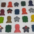 Party Favor Christmas Crayons