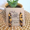 Leopard Medium Earrings