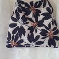 JOCELYN PROUST FLORAL BAG/ACRYLIC HANDLES