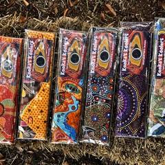 KOOKA'S KOOLERS in beautiful Aboriginal design art fabrics NEW