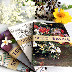 Seed Saving Envelopes, 20 mini envelopes, handmade from recycled paper