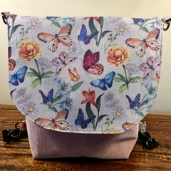 Country Butterfly Convertible Backpack