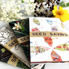 Recycled Paper Seed Saving Envelopes, 20 Handmade Mini Envelopes