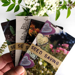 Gifts for Gardeners, Packs of Handmade Seeds Saving Envelopes