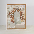 CLEARANCE SALE - Enjoy Your Day, Best Wishes, Brown Unisex Birthday Card