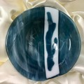 Stormy blue small bowl