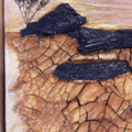 Arid Earth - Canvas Mixed Media Original