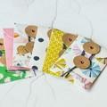 Button Coin Envelopes {6} Summer Mix | Green Pink Blue | Luxe Money Envelopes
