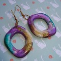 Fat Cat Originals Resin Earrings