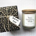 Gift: Green Aventurine Gemstones Pure Soy Candle