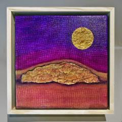 The Sleeper - Canvas Mixed Media Original