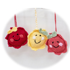 Smiley happy faces, comforters for those leaving home. Back to school