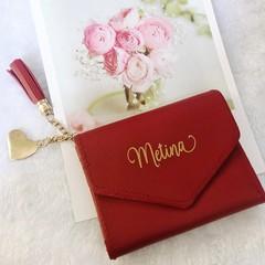PERSONALISED Wallet|Trifold|Birthday Gift| Wedding|Bridesmaids Gift idea|Custom