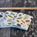 Mini Blank Books {3} Christmas Forest   Mini Journals   Mini Notebooks   Forest