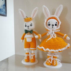 Lolita mini couple rabbit