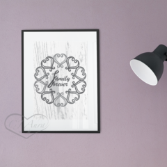 Printable Grey Instant Download, Lounge Room Art, Calligraphy, Modern Style