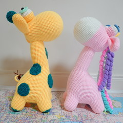 Giraffe and Unicorn