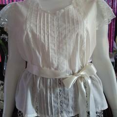 WOMENS PLUS SIZE P.J. set in pure cotton voile. Size L  fits 18 - 20