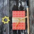 Christmas Red Envelopes {5w cards+ seals} Christmas Cards | Festive Envelopes