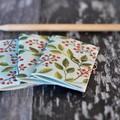 Mini Blank Books {3} Christmas Forest | Mini Journals | Mini Notebooks | Berries