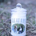 Harry Potter themed scented soy Candle Snape And Lilly