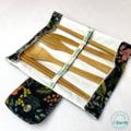 Reusable Bamboo Cutlery Set   Zero Waste Utensil Kit   Eco-Friendly