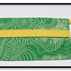 Harvest Face Mask Carry Pouch (Yellow Trim)