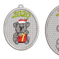 Free Standing Decorative Bauble with Koala