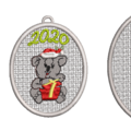 Free Standing Decorative Bauble with Koala 2