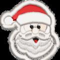 Free Standing Santa Beard
