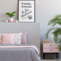 Instant Printable FAMILY, FRIENDS & FUN WEEKENDS Grey and Black and White