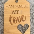 Product Tags - Card style #6 from Bamboo. From $1.20 per Tag - FREE Shipping