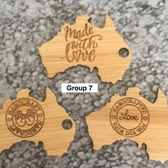 Product Tags - Australia style #7 - Bamboo. From $0.59 per Tag - FREE Shipping