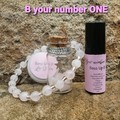 B Your Number ONE! Friendship giftbox- Rose Quartz