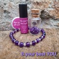 B Your Best You, Friendship giftbox - Amethyst